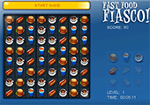 Fast food , match 3
