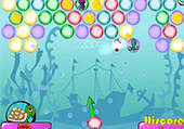 Bubble shooter undersea