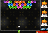 Bubble shooter d'Halloween