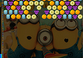 Bubble shooter des minions