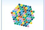 Jeu de boules: bubble spinner