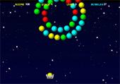 Boules placées en cercle