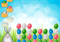 Oeufs de Pâques à grouper
