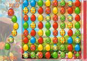 Oeufs colorés à regrouper