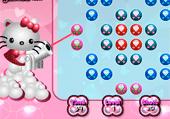 Vise les boules avec Hello Kitty