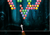 Bubble shooter dark forrest