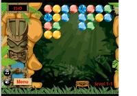 Attrape des boules dans la jungle