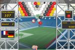 Jeux de boule : tir de football
