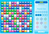 Cubes de même couleur