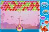 Boules dans la mer